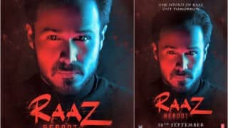 Raaz Reboot poster: Vampire Emraan Hashmi's poster is mysterious and intriguing!
