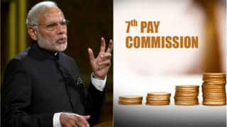 7th Pay Commission latest news: From August 1 Central Government to get salary hikes, arrears before March 31, 2017