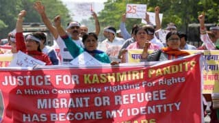 Return Valley: BJP tells protesting Kashmiri pandit employees