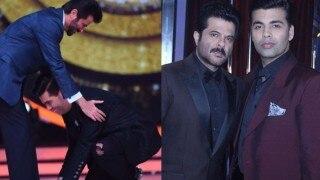 Jhalak Dikhhla Jaa 9: Did Karan Johar really touch Anil Kapoor's feet?