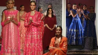 Anita Dongre showecase epic love, vintage style at ICW 2016
