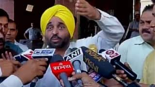 AAP MP Bhagwant Mann faces flak for posting 'Facebook Live' video from inside the Parliament, revealing security positions