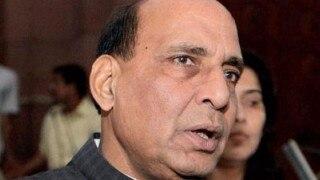 Kashmir violence: Rajnath Singh postpones US trip