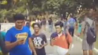 Hundreds of Indians go crazy hunting for an imaginary cartoon in this Chennai park!