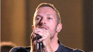Chris Martin performs son's favourite songs
