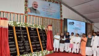 Narendra Modi lays foundation stone of AIIMS-Gorakhpur