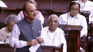 LIVE Monsoon Session of Parliament: Rajnath Singh accuses Pakistan of conspiring unrest in Kashmir