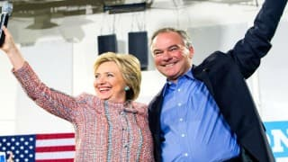 Hillary Clinton selects Senator Tim Kaine as running mate