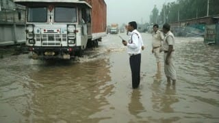 Gurgaon waterlogging forces schools to shut, calls to avoid travelling