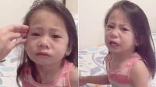 This little kid crying as she thinks her sister is dying when she's on her periods is the cutest thing ever!