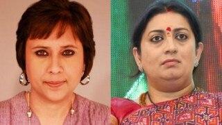 'You will never speak for us': Barkha Dutt accuses Smriti Irani of practising 'selective feminism' in scathing open letter!