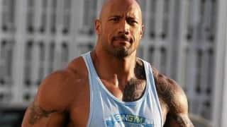 Dwayne Johnson shares on set picture of Fast and Furious 8