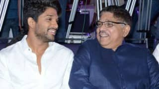 Allu Aravind is proud of son Allu Arjun