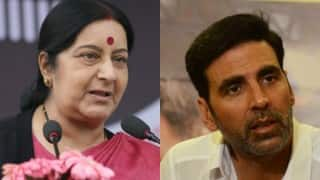 Akshay Kumar requests Sushma Swaraj for speedy Sudan evacuation
