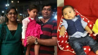 Indian techie Gannaram Srinivas's wife falls from Melbourne highrise with baby, dies