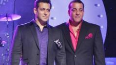 All is well between Sanjay Dutt and Salman Khan