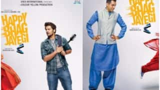 Happy Bhag Jayegi new posters starring Abhay Deol, Ali Fazal are here and we are absolutely loving them