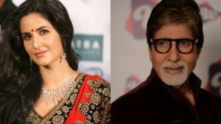 Amitabh Bachchan wishes Katrina Kaif on Twitter!