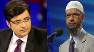 WATCH: Zakir Naik calls Arnab Goswami 'chooha', issues an open challenge for debate (Video)