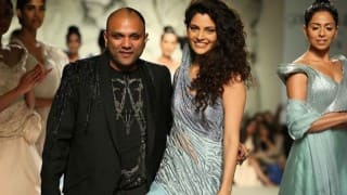 India Couture Week 2016: Saiyami Kher makes runway debut in a creation by Gaurav Gupta