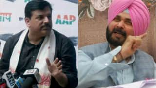 Navjot Singh Sidhu was in touch with AAP leaders, confirms Sanjay Singh