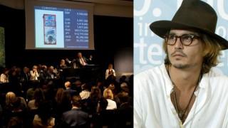 OMG! Johnny Depp earns USD 11.5 million through art auction