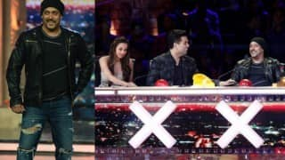 Oops! Did Salman Khan IGNORE sister-in-law Malaika Arora on the sets of India's Got Talent?