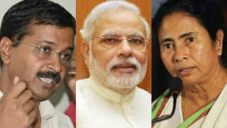 As Arvind Kejriwal attacks Narendra Modi, Mamata Banerjee pitches for good Centre-state ties