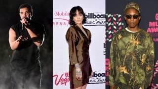 Rihanna, Drake, Pharrell Williams hit recording studio together