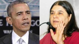 Maneka Gandhi asks Barack Obama not to attend bull-fighting fest