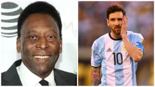 Pele urges Lionel Messi not to quit Argentina