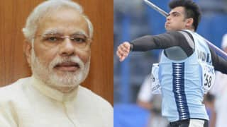 Narendra Modi congratulates Neeraj Chopra for breaking junior world record
