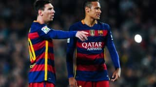 I was afraid of Lionel Messi and Barcelona stars, says Neymar
