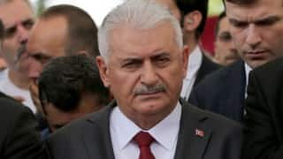 Coup a black stain for democracy: Turkish PM Binali Yildirim