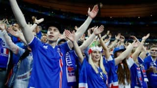 Euro Cup 2016: Rapturous Reykjavik reception for Iceland's tournament heroes