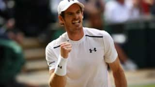 Andy Murray holds off Milos Raonic 6-4, 7-6, 7-6 to win Wimbledon 2016