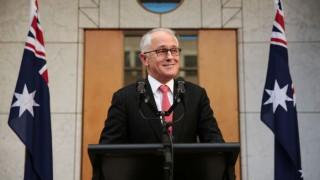 Malcolm Turnbull sworn in as Australia's Prime Minister