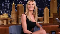 Heidi Klum talks undergarments. The supermodel prefers more cleavage and less bra