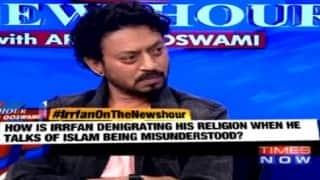 Irrfan Khan on The Newshour Debate: Huge chunk of Muslims are fighting against terrorism (Watch video)
