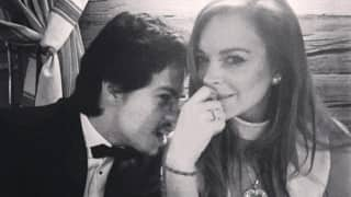 Lindsay Lohan hurls fiance Egor Tarabasov's phone into sea after fight!