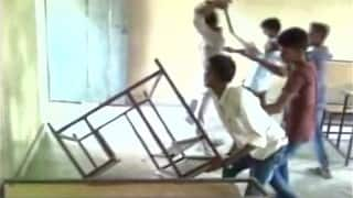 Shocking! Bihar students vandalize school property after outdoor tour gets cancelled (Watch Video)