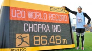 Indian Javelin Star Neeraj Chopra Aims Commonwealth Games 2018 Glory