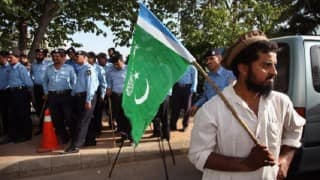 Hoisting of 'Pakistani flag' at a house creates flutter