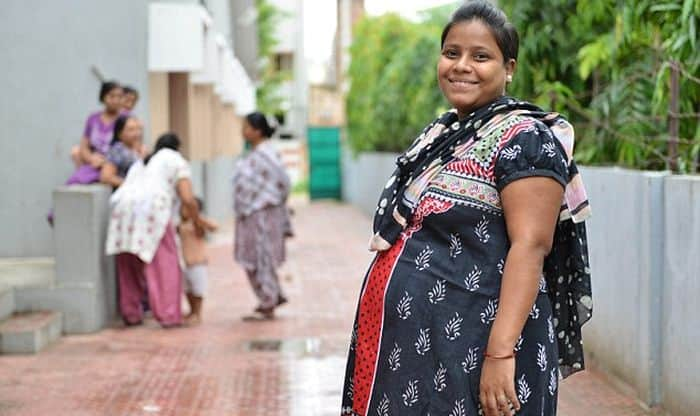 6 month pregnant indian 4