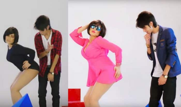Qandeel Baloch and Aryan Khan in BAN song