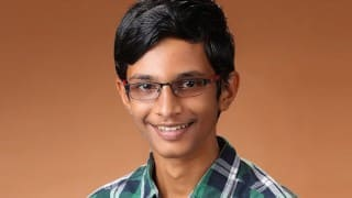 14 yr old kid from Chennai wins prestigious Google Science Fair 2016 for his innovative project to help save fishermen's lives in India!