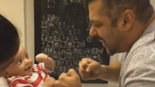 MUST SEE: Sultan Salman Khan's cute boxing bout with nephew Ahil Sharma (Watch Video)