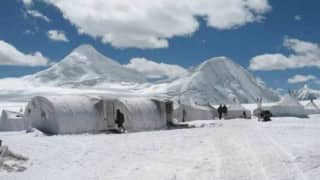 Pakistan media claims its air force chief Sohail Aman piloted jet near Siachen, India clarifies air space not violated