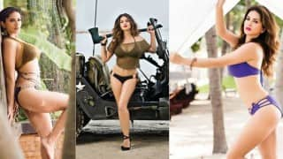 Manforce Calendar 2016-17: Sunny Leone heats up the rainy season with these sexy pictures!