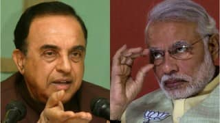 Subramanian Swamy threatens to debunk Narendra Modi's promise of 'Achchhe Din'; says GDP figures might burst govt bubble